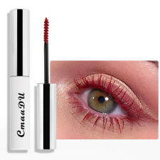Women Long lasting CmaaDu 4D Mascara Growth Fluid Slender Mascara Makeup