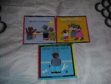 lot de 3 livres enfant bébé PETIT OURS BRUN voir photo