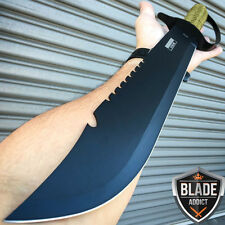 "20"" JUNGLE MACHETE HUNTING KNIFE MILITARY TACTICAL SURVIVAL CAMPING SWORD NEW"