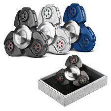 Hot CKF EDC Hand Fidget Spinner Titanium Alloy Finger Gyroscope Focus Toy US