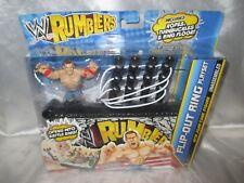 WWE Mattel Rumblers Ring Flip-Out Ring Playset With John Cena Figure