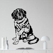 Saint Bernard Dog Wall Decal Nursery Poster Vinyl Sticker Art Decor Mural 45aaa