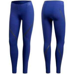 Adidas Ask Long Tight Women's Sports Leggings Running Compression Techfit Blue