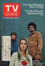 1971 TV Guide July 3 - Mod Squad; Tom Petit; USSR-US Track Meet; Radio-Movies