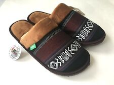 PONO Men's Slippers Woodland Memory Foam Size Large - Brand New