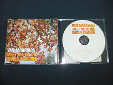 VAN MORRISON - Meet Me In The Indian Summer (RARE 1 Track Promotional CD 2002)