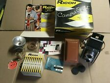 @ VINTAGE RICOH CAMERA OUTFIT SUPER RICOHFLEX CAMERA @
