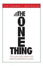 The One Thing by Gary Keller;Jay Papasan