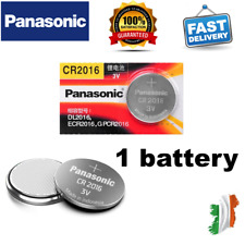 1pcs PANASONIC CR2016 3V Lithium Coin Button Cell Battery