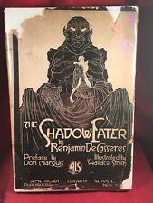 The Shadow Eater by Benjamin De Casseres Inscribed Copy in DJ-rare
