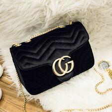 Women Fashion Velvet Shoulder Bag Ladies Quality Purse Crossbody Evening Handbag