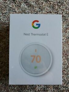 Nest Thermostat E -  FACTORY SEALED (NEW) NEVER OPENED