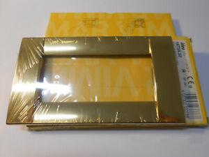 VIMAR 08605 Placca 1M alluminio oro