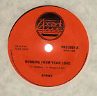 """AFRIKA - RUNNING FROM YOUR LOVE / STICKING WITH YOU - RARE OZ 7""""VINYL-FUNK-SOUL"""