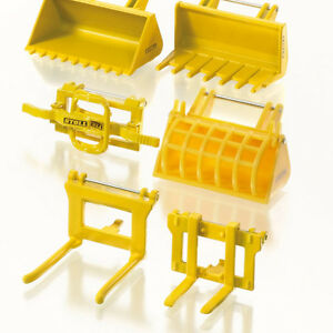 Siku 7070 - Stoll Tractor Frontloader Accessories Stoll Set - Scale 1:32