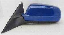 VW Passat B5 (1996-202) Lado Izquierdo (Pasajero) Espejo De La Puerta Eléctrico Azul MET