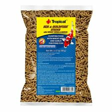 Tropical Koi & Goldfish Sticks with Wheat Germ & Garlic - 3.17 oz