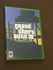 Original Microsoft XBox Video Game Grand Theft Auto III The Collection Rated M