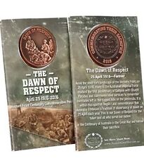 The Dawn of Respect Western Front 1916 Commemorative Penny ANZAC Day 2016