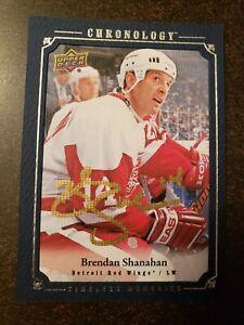 2018-19 Chronology Vol. 1 - Brendan Shanahan - Timeless Memories Auto