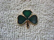 """Irish Shamrock Pin Badge Ireland """"IRISH SHAMROCK"""" Ireland Shamrock Lapel/Hat Pin"""