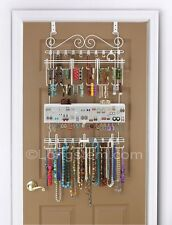 Longstem #5100 Over the Door Jewelry Organizer Valet ~ Patented ~ Rated Best ~