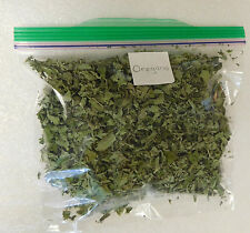 Organic Dried Oregano 1 Cup 1/2 oz Whole Leaf Uncrushed Bagged Herb 2017 Harvest