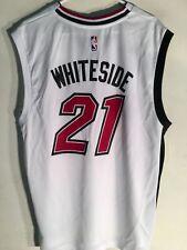 Adidas NBA Jersey Miami Heat Hassan Whiteside White Alt 3rd sz M 7bee801cd
