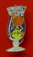 Hard Rock Cafe Enamel Pin Badge Drums Drumkit in Hurricane Glass HRC LE500