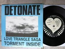 "Detonate – Love Triangle saga 7"" D 001 Australia"
