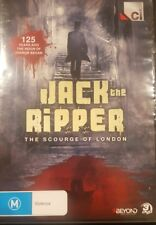 JACK THE RIPPER SCOURGE OF LONDON RARE DVD DOCUMENTARY CRIME + INVESTIGATION OOP
