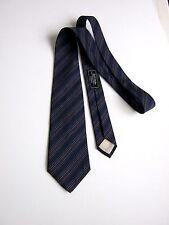 YVES SAINT LAURENT Paris CRAVATTA Tie 100% SETA SILK ORIGINALE