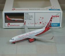 Herpa Wings airberlin (Santa) B737-800W (NG) 1/500