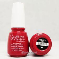 Gelaze China Glaze LED UV Gel Nail Color Polish 0.5 oz - Sexy Silhouette 81637