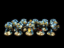 WH40k, Space Marines, Ultramarines Tactical  Squad #2, PRO PAINTED, 10 models
