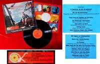 LP Freddy Quinn: Freddy auf hoher See (Polydor 237 250 Stereo) mit Sticker