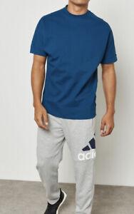 Mens ADIDAS ZNE Crewneck Blue Shirt Size L #18500