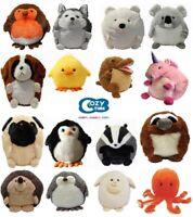 Handwarmer Cozy Time Giant Animal Big Soft Plush Cuddly Toy 35CM Great Gift