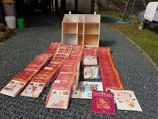 Del Prado Puppenhaus Rote Serie komplett 1-125, teilweise gebaut