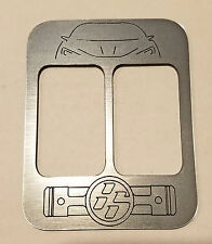 CONSOLE PLAQUE  FITS TOYOTA GT 86 SCION FR-S FRS WITH SEAT HEATER SWITCH #12