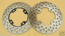 Front Brake Disc Rotor For YAMAHA Grizzly Big Bear Kodiak Bruin Wolverine YFM350