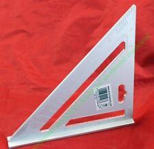 Escuadra robusta de aleación de aluminio con graduaciones imperiales 734110 -