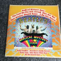 LP THE BEATLES THE MAGICAL MYSTERY TOUR  BOOKLET US PRESS APPLE SMAL2835 1968 EX