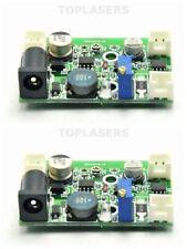 2pcs 1 W 1.6 W 2 W 405 Presque comme neuf 445 Presque comme neuf 450 Presque comme neuf Blue Laser Diode Driver Board Circuit 12 V TTL