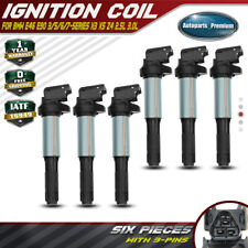 Set of 6 Ignition Coils for BMW E46 E53 E60 E70 E71 E90 X3 X5 M3 Z4 12131712219