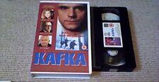 KAFKA BIG BOX GUILD UK VHS PAL VIDEO 1994 MINT Jeremy Irons Theresa Russell