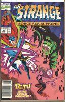 Doctor Strange Sorcerer Supreme 1988 series # 30 UPC code near mint comic book