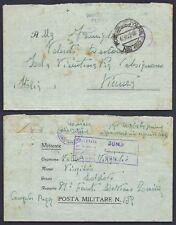 POSTA MILITARE 1942 Lettera da PM 152 a Isola Vicentina (EB)
