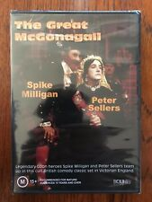 The Great McGonagall DVD Region All New & Sealed Peter Sellers Spike Milligan