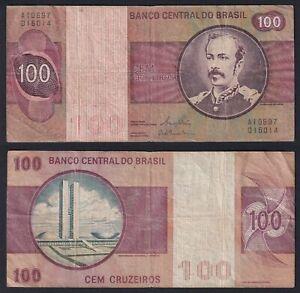 Brasile 100 cruzeiros 1981 BB/VF  B-05